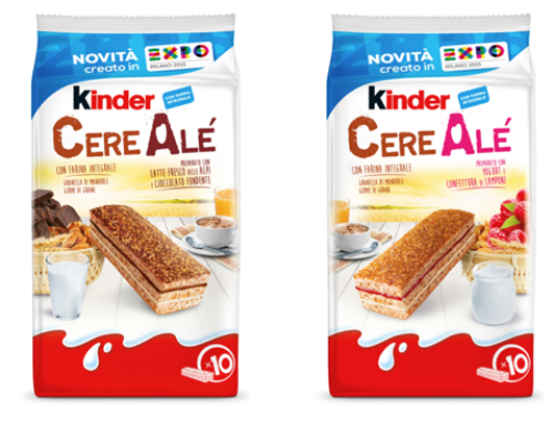 Ferrero lancia CereAlé, specialità da forno ispirata a Expo 2015