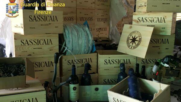 Sassicaia falso