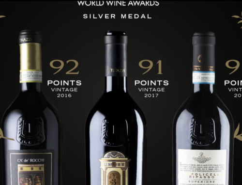 Tinazzi, tre argenti ai Decanter World Wine Awards