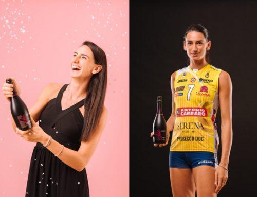 Nuova testimonial per Serena Wines: è la stella dell'Imoco Volley, Raphaela Folie
