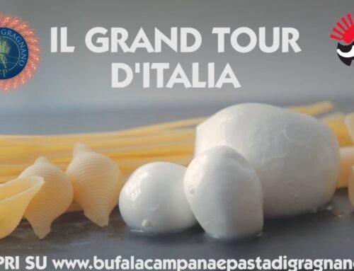 Pasta di Gragnano Igp e Mozzarella di Bufala Dop: al via un tour d'Italia nelle cucine degli chef
