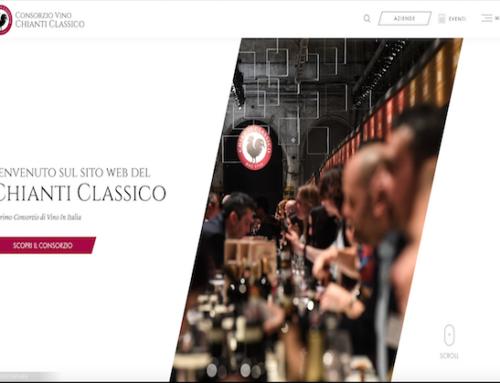 Il Consorzio Chianti Classico ha un sito web tutto nuovo