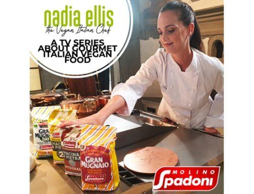 Molino Spadoni protagonista nella trasmissione 'The Vegan Italian Chef'sulla Tv israeliana