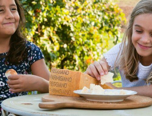 Il Consorzio del Parmigiano reggiano lancia la sesta edizione di 'Amo ciò che mangio 3.0'