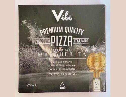 Castello Monte Vibiano presenta 'Premium Quality Pizza Margherita Gourmet' a marchio Vibi