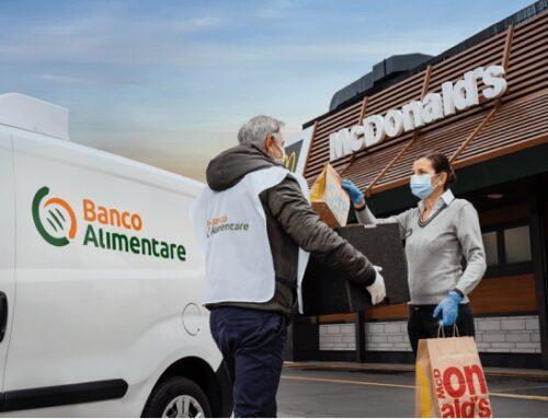 McDonald's: anche i ristoranti di Monza e Brianza donano pasti caldi alle strutture caritative