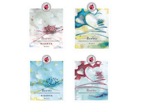 Consorzio tutela Roero presenta le 'etichette d'autore'