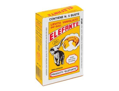 Arriva a scaffale il lievito vanigliato gluten free Elefante