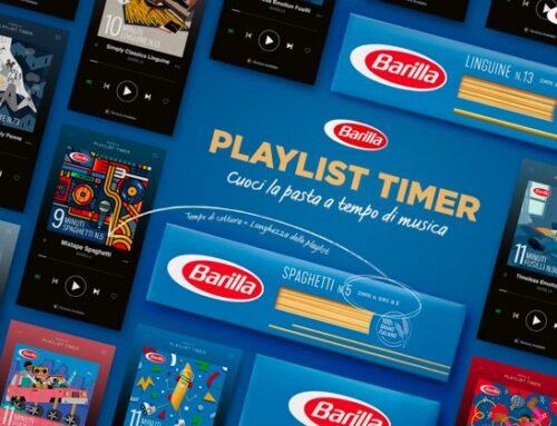 Collaborazione Barilla-Spotify: nasce il timer musicale per la cottura della pasta