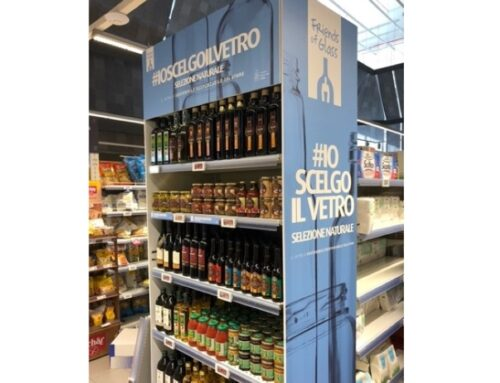 Al via la campagna di sensibilizzazione in-store '#io scelgo il vetro'