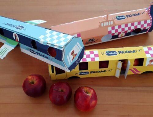 Melinda presenta 'Le Piccoline': le mele dedicate ai bambini in un pack giocattolo ma eco-friendly