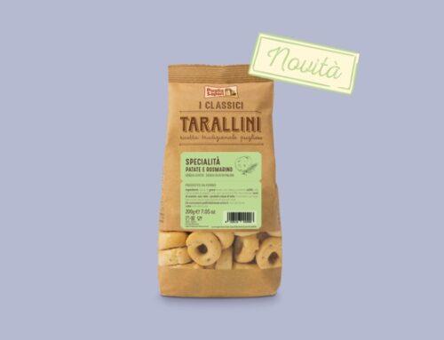 Puglia Sapori: in arrivo i nuovi Tarallini patate e rosmarino