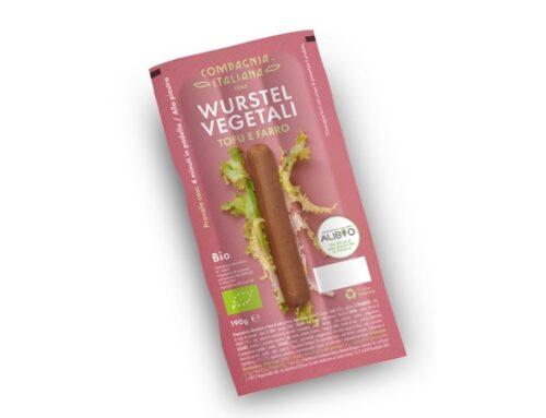 Compagnia Italiana: nuovo pack per i wurstel vegetali con tofu e farro