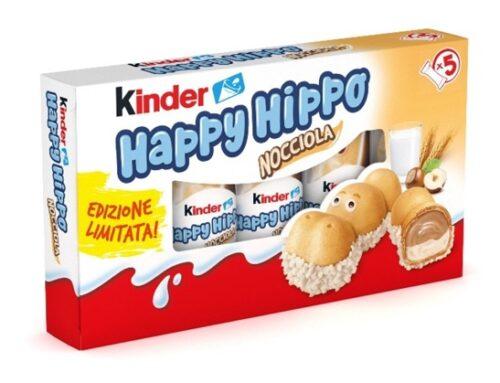 Kinder: a grande richiesta, torna Happy Hippo