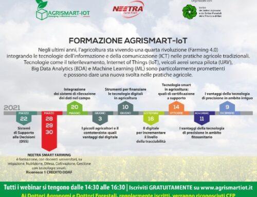 Neetra lancia un programma di formazione su smart farming e agritech