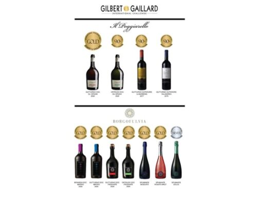 Cantine 4 Valli: 11 medaglie per i brand Il Poggiarello e Borgofulvia all'International Challenge Gilbert & Gaillard 2021