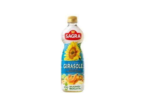 Olio Sagra presenta la nuova bottiglia in r-Pet 50%