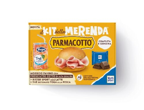 Parmacotto presenta il 'Kit della merenda'