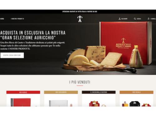 Auricchio apre il proprio e-commerce