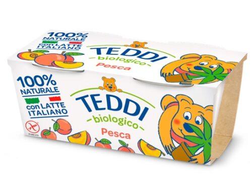 Teddi Pesca: lo yogurt biologico dedicato ai bambini di Fattoria Scaldasole