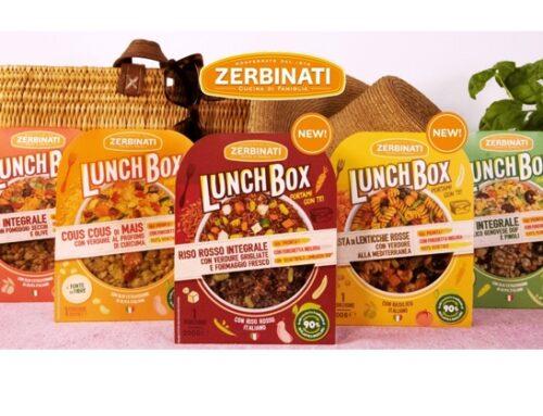 Zerbinati lancia due nuove referenze della linea di piatti pronti Lunch Box