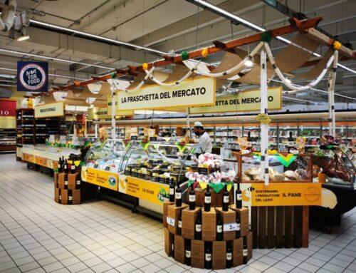 Carrefour lancia il progetto pilota del 'mercato rionale' per valorizzare i prodotti regionali