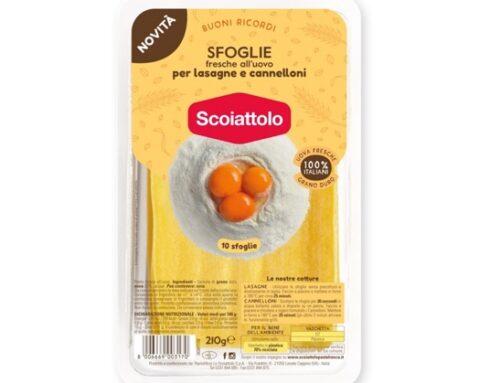 Raviolificio Scoiattolo: a scaffale, da maggio, le nuove Sfoglie fresche all'uovo