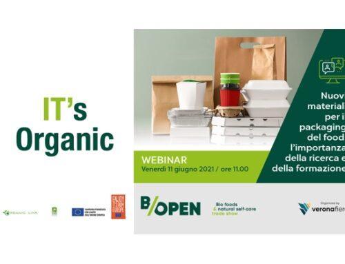 B/Open, un webinar dedicato al packaging sostenibile nell'ambito food: l'importanza della ricerca e della formazione