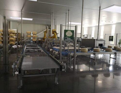 Brazzale inaugura un nuovo magazzino di stagionatura completamente robotizzato