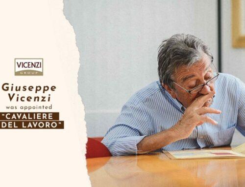 Giuseppe Vicenzi nominato 'Cavaliere del lavoro' dal presidente Sergio Mattarella