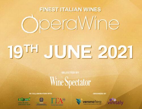 Tutto pronto per OperaWine, di nuovo in presenza il 19 giugno