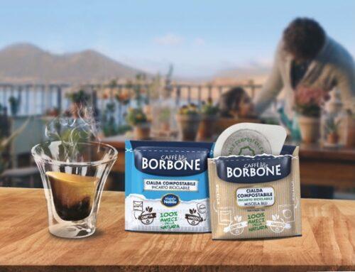 Caffè Borbone presenta il nuovo involucro 100% riciclabile da smaltire nella carta