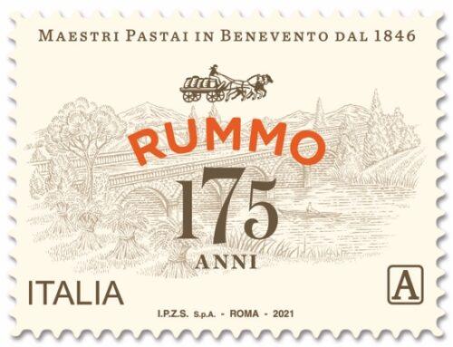 Pasta Rummo compie 175 anni. Presentato il nuovo francobollo celebrativo