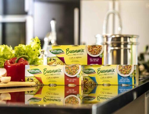Valfrutta lancia Buonmix: mais, verdure e legumi pronti da consumare