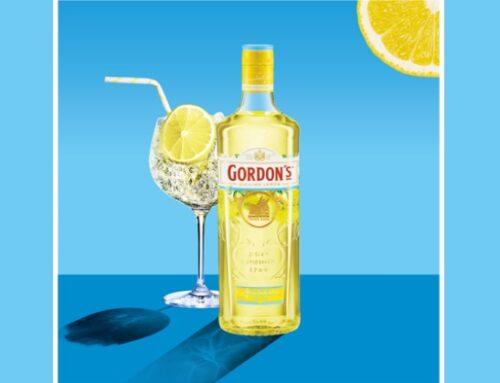 Gordon's lancia il nuovo gin ai limoni di Sicilia