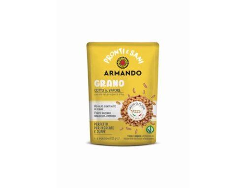 Armando presenta la linea 'Pronti e Sani': mix di cereali, legumi e frutta ready-to-eat