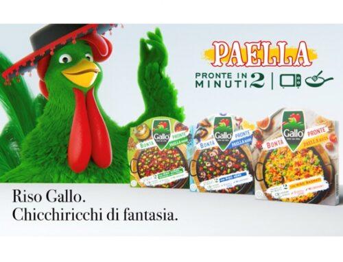 Riso Gallo presenta la Paella della linea 'Bontà pronte'.  E torna in tv con un nuovo spot