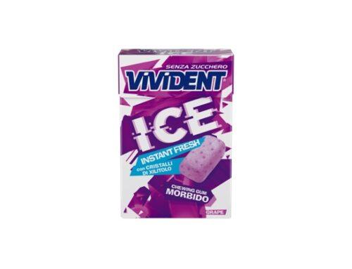 Vivident Ice presenta il nuovo chewing gum senza zucchero. Disponibile nei gusti Peppermint e Grape