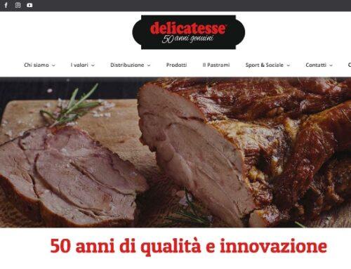 Nuovo sito istituzionale per Delicatesse