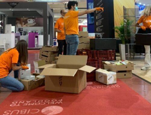 Banco Alimentare e Cibus: recuperate in fiera 15 tonnellate di eccedenze alimentari