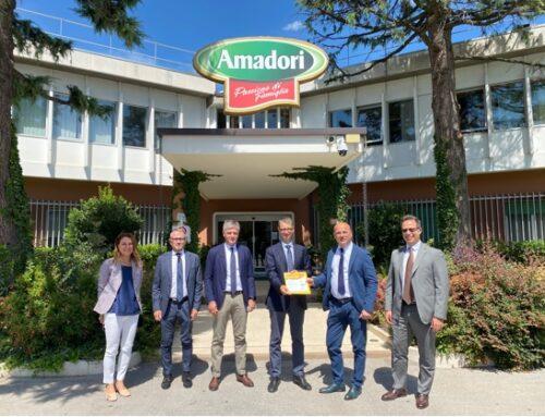 Amadori è la prima azienda italiana nel food certificata per il Sistema di Credit Management