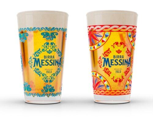 Birra Messina celebra la Sicilia con i nuovi bicchieri in edizione limitata