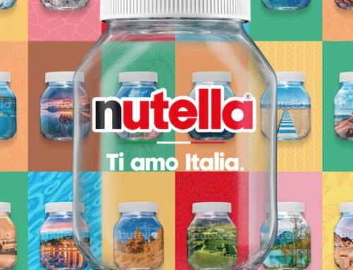 Nutella rilancia la campagna 'Ti amo Italia'