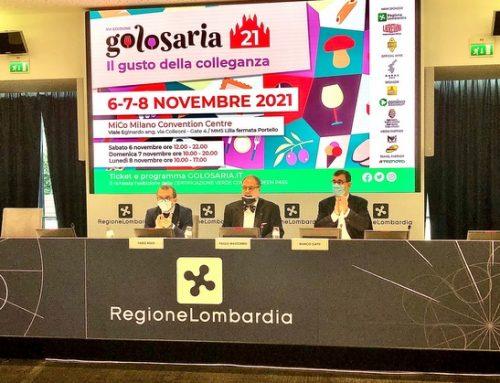 Presentata l'edizione 2021 di Golosaria a Milano
