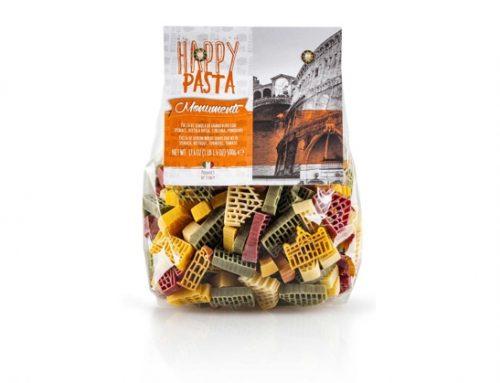 In occasione del World Pasta Day, Dalla Costa presenta la linea 'Happy Pasta Monumenti'