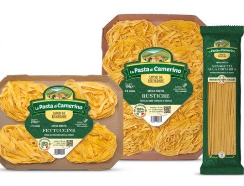 La Pasta di Camerino (Entroterra): in rapido aumento le vendite in Toscana, Marche e Trentino